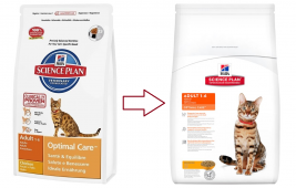 Science Plan Feline - Adult Optimal Care mit Huhn Hill's  0052742429601