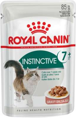 Royal Canin Feline Health Nutrition Instinctive +7 σε Σάλτσα 85 g