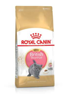 Royal Canin Feline Breed Nutrition Kitten British Shorthair 400 g, 2 kg, 10 kg