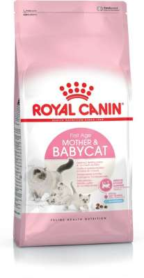 Royal Canin Feline Health Nutrition Mother & Babycat 400 g, 4 kg, 2 kg