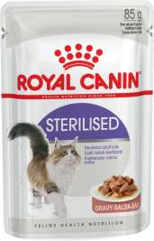 Feline Health Nutrition Sterilised in Gravy 85 g merkiltä Royal Canin