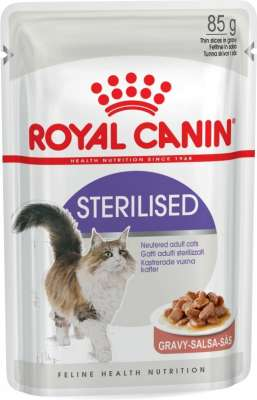 Royal Canin Feline Health Nutrition Sterilised szószban 85 g