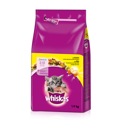 Whiskas Junior Kyckling 1.9 kg, 350 g, 800 g