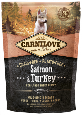 Carnilove Large Breed Puppy Lachs & Truthahn 1.5 kg Lachs & Pute