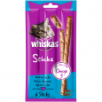 Sticks ricco di salmone Whiskas 6x6 g