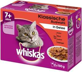 Multipack 7+ Meaty Selection in Jelly Whiskas 4008429074264