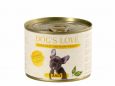 Junior Aves de Capoeira Dog's Love 200 g