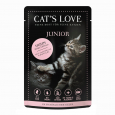 Cat's Love Junior Frango Puro 85 g