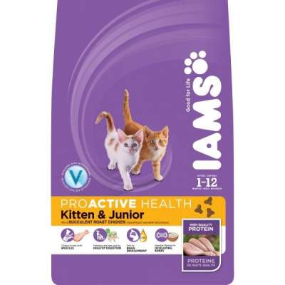 Iams Kitten & Junior 300 g, 2.55 kg