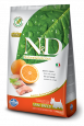 Farmina N&D Grain-Free Adult Mini mit Fisch und Orange 800 g