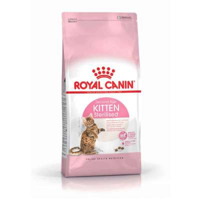 Royal Canin Feline Health Nutrition Kitten Sterilised 400 g, 4 kg, 2 kg