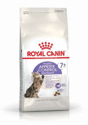 Royal Canin Feline Health Nutrition Sterilised +7 Appetite Control 400 g, 3.5 kg, 1.5 kg