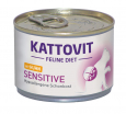 Sensitive mit Huhn Kattovit Feline Diet 175 g