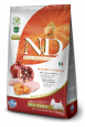 N&D Pumpkin Adult Mini Poulet et Grenade de chez Farmina 2.5 kg