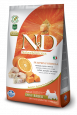 N&D Pumpkin Adult Mini Morue et Orange de chez Farmina 800 g
