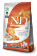 N&D Pumpkin Adult Medium & Maxi con Bacalao y Naranja de Farmina 2.5 kg