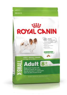 Royal Canin Size Health Nutrition X-Small Adult 8+  1.5 kg, 3 kg, 500 g