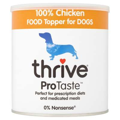 thrive ProTaste Chicken Food Topper for Dogs  170 g
