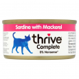 thrive  Complete Sardine with Mackerel  75 g áruház