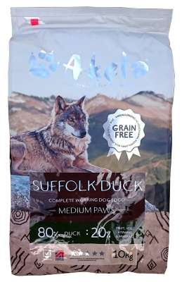 Akela Suffolk Duck Medium Paws  10 kg, 1.5 kg