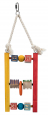 Trixie Wooden Ladder, multicoloured 44 cm