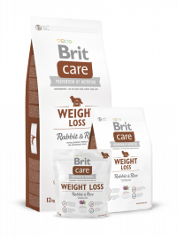 Care Weight Loss med Kanin och Ris 3 kg från Brit