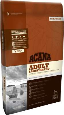 Acana Heritage Adult Large Breed  17 kg, 11.4 kg