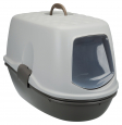 Trixie Berto Top Litter Tray, with Separating System, Threepart  Sølv
