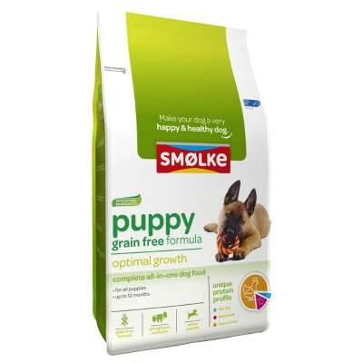 Smølke Puppy Grain Free Optimal Growth 3 kg Pollo & Agnello & Pesce