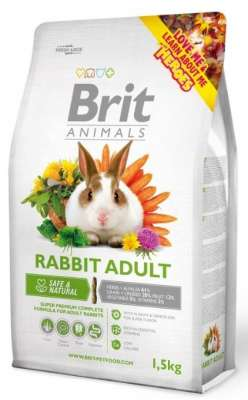Brit Animals Rabbit Adult Complete  300 g, 3 kg, 1.5 kg
