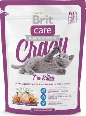 Brit Care Crazy I'm Kitten 7 kg, 400 g, 2 kg