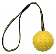 Sporting Ball on a Strap, Natural Rubber and Polyester Gul fra Trixie