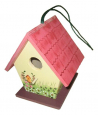 Elmato Dwarf Bird House  Red