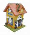 Elmato Bird House Antique  Multicolor
