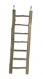 Elmato Natural Wooden Ladder  30 cm