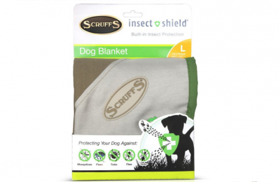 Scruffs Insect Shield Dog Blanket L