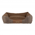 Scruffs Windsor Box Dog Bed  Brown