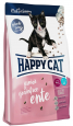 Happy Cat Junior Grainfree Duck 4 kg - Food for junior cats
