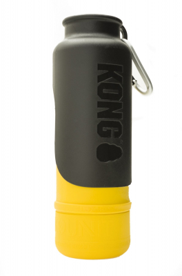 KONG H2O Stainless Steel Insulated Dog Water Bottle Gul 750 ml