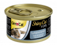 GimCat ShinyCat Tuna with Shrimp 70 g billigt