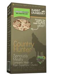 Natures Menu Country Hunter Rabbit with Cranberry Superfood Crunch  700 g