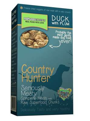 Natures Menu Country Hunter Ente mit Pflaume Superfood Crunch  700 g