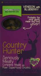 Natures Menu Country Hunter Venison with Blueberries Superfood Crunch 700 g