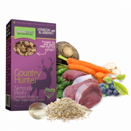 Natures Menu Country Hunter Venison with Blueberries Superfood Crunch 700 g online butik
