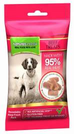 Real Meaty Dog Treats with Beef Natures Menu 5025730001092