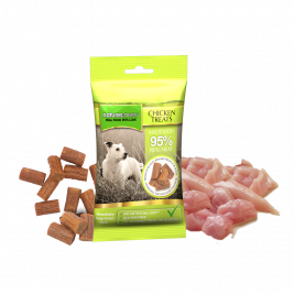 Natures Menu Real Meaty Dog Treats with Chicken  60 g 60 g