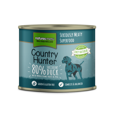 Natures Menu Country Hunter Succulent Duck  600 g