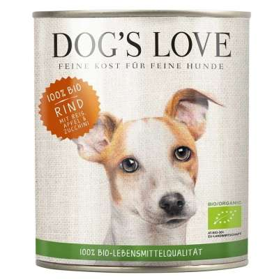 Dog's Love Bœuf Bio  400 g, 800 g, 200 g