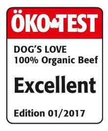 Dog's Love Bœuf Bio  200 g