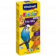 Vitakraft Trio crackers with Eggs, Fruit and Honey for budgies Æg & Frugt & Honning